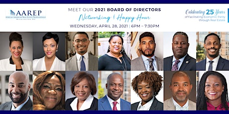 Meet Our 2021 Board of Directors — Networking & Happy Hour tickets