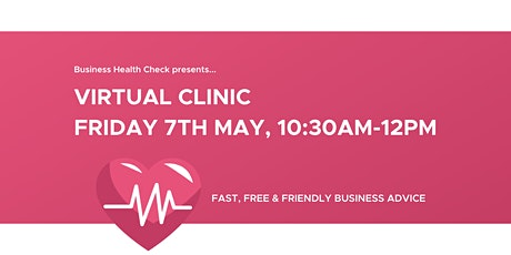 Business Health Check Free Virtual Clinic tickets