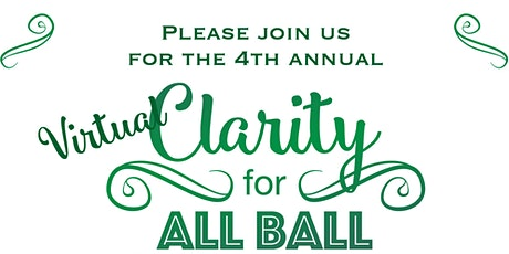 Clarity for ALL Ball tickets