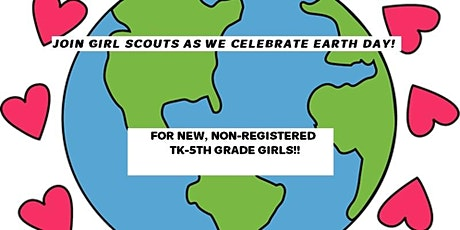 Girl Scouts  Outdoor Art/Earth Day Event! tickets