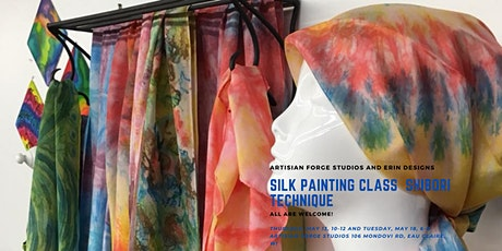 Silk Painting Class - Shibori Technique tickets