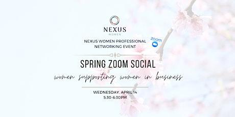 Spring Zoom Social tickets