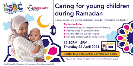 Caring for young children during Ramadan tickets