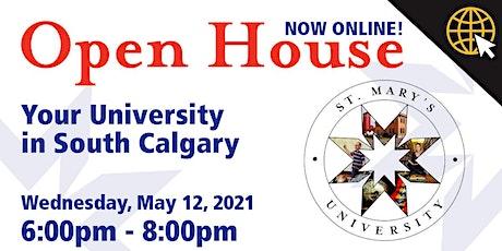 StMU Virtual Open House tickets