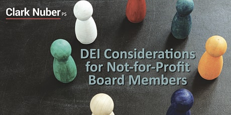 DEI Considerations for Not-for-Profit Board Members tickets
