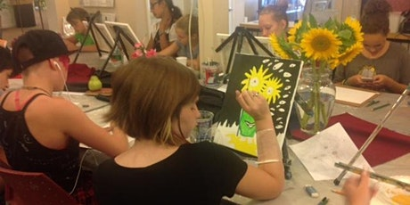 PAINT ALONG ART CAMP-Ages 8 and up, Monday thru Friday, June 7-11, 9am-12pm tickets