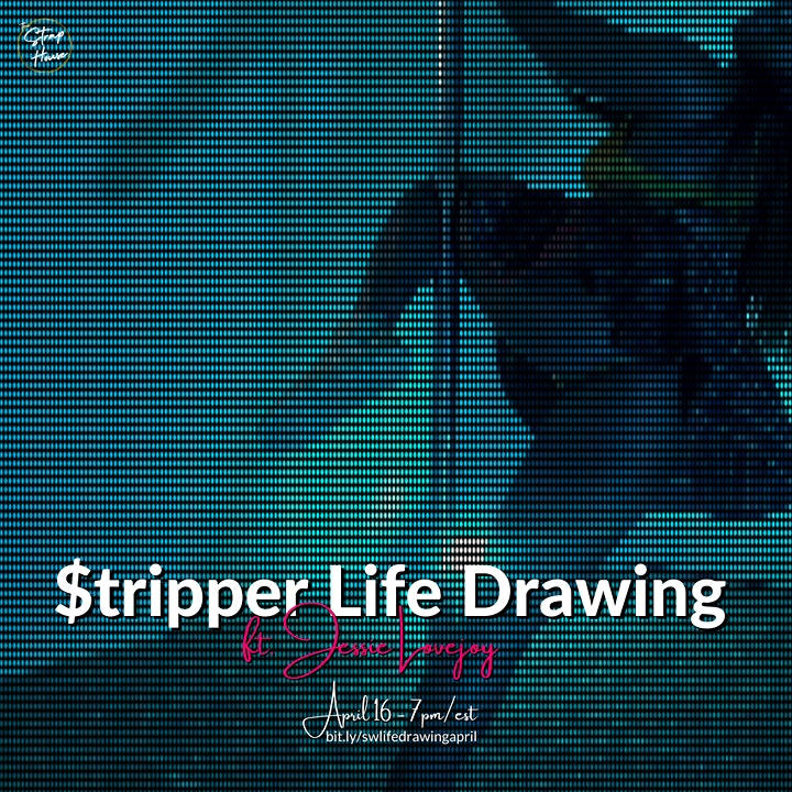 $tr!pper Life Drawing at The Strap House ft. Jessie Lovejoy! image