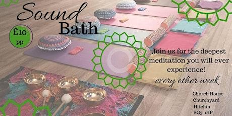 Sound Bath Meditation Hitchin tickets