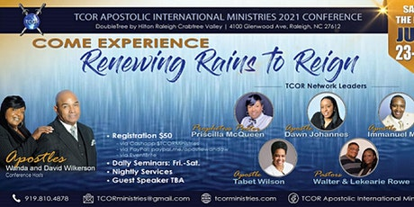 TCOR Annual Conference-Renewing Rains to Refreshing tickets