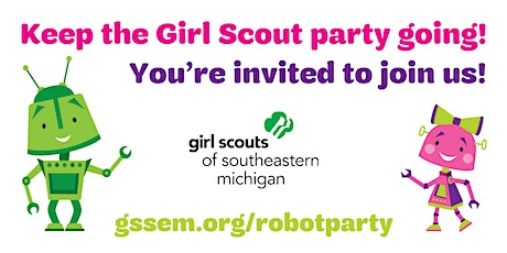You're Invited to Our Robot Building Party! tickets