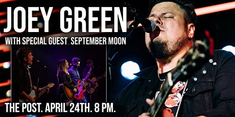 Joey Green (Full Band) at The Post tickets