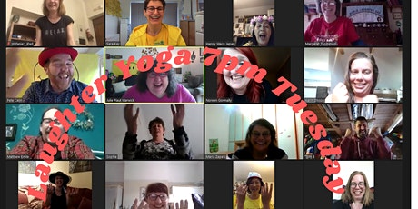 Laughter Yoga online on Tuesdays tickets