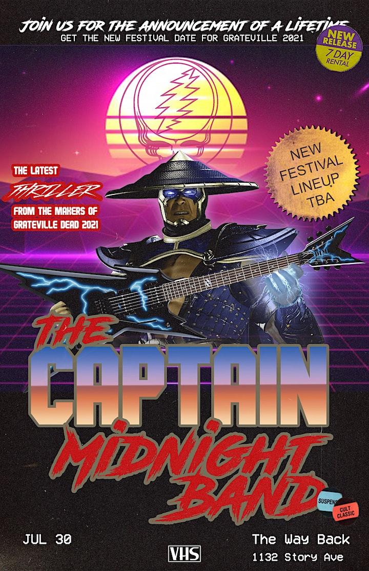Grateville Presents: Captain Midnight @ High Horse Bar image