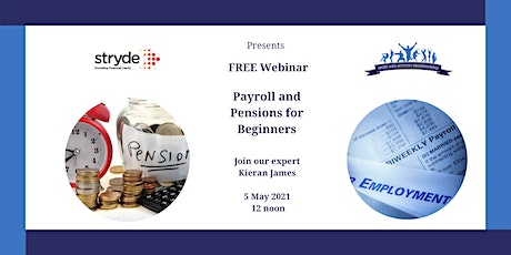 Payroll and Pensions for Beginners tickets