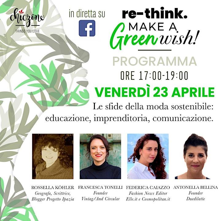 Le sfide della moda sostenibile: educazione, imprenditoria, comunicazione. image