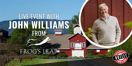 Sustainability & Climate With John Williams of Frog's Leap tickets