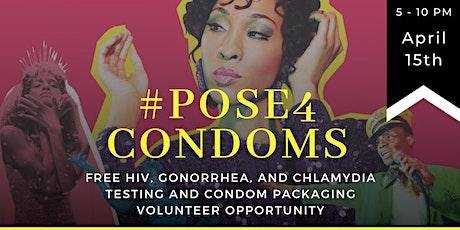 #pose4condoms tickets