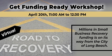 Get Business Ready: Apply for LBC's Recovery Grant coming soon tickets