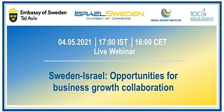 Sweden-Israel: Opportunities for business growth collaboration tickets
