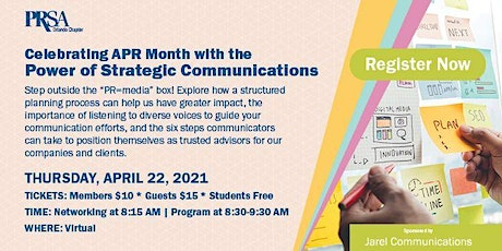 Celebrating APR Month with the Power of Strategic Communications tickets