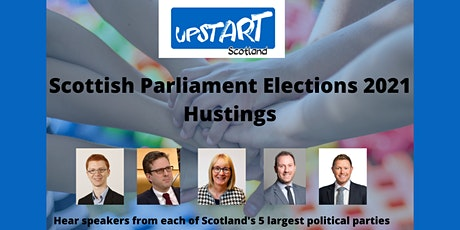 Upstart Scotland Hustings tickets