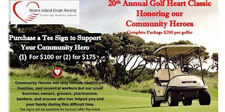 20th Annual Golf Heart Classic tickets
