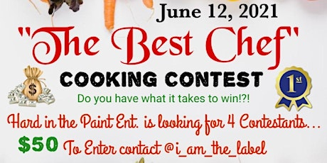 """The Best Chef"" Cooking Contest tickets"
