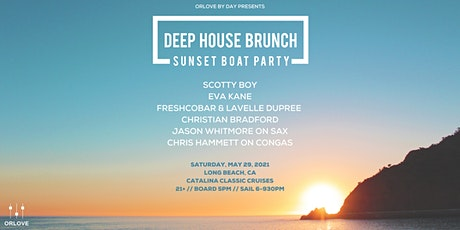 Deep House Brunch Sunset Boat Party - SOLD OUT tickets