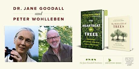 P&P Live! Jane Goodall & Peter Wohlleben in Conversation tickets