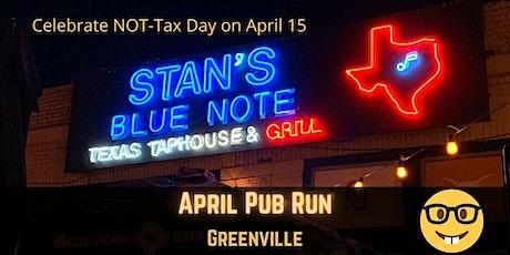 April Pub Run: Tax Day at Stan's Blue Note tickets