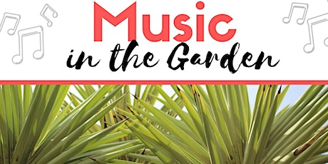 Music in the Garden - Jamie Walker & Friends tickets