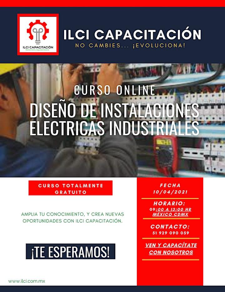 """Imagen de Curso Gratuito México """"Diseño de instalaciones eléctricas industriales"""""""