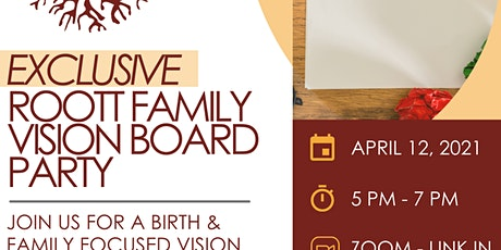 ROOTT Family Tree Vision Board Party tickets