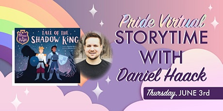 Pride Storytime with Daniel Haack tickets
