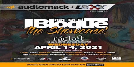 """Hot En El Bloque """"The Showcase"""" tickets"""