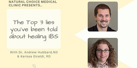 The top 3 lies you've been told about healing from IBS tickets