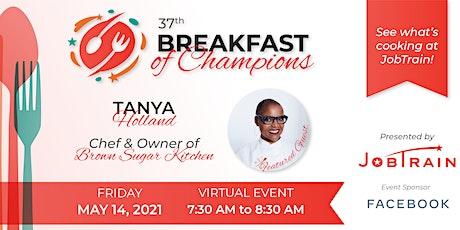 JobTrain Breakfast of Champions tickets