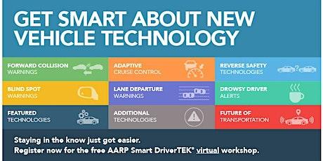 AARP Smart DriverTek Workshop:  Discover the Benefits of New Car Technology tickets