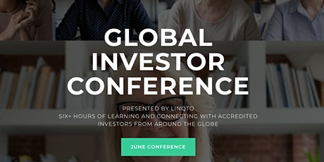 Global Investor Conference: June, 2021 tickets