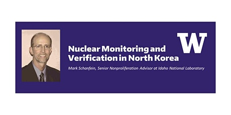 Nuclear Monitoring and Verification in North Korea tickets
