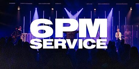 6 PM Service - Sunday, April 11th tickets