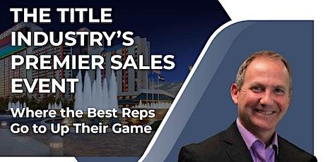 Title Sales Mastery Summit 2021 tickets