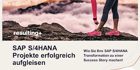 SAP S/4HANA Projekte erfolgreich aufgleisen (Online Workshop) Tickets