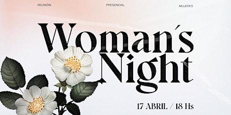 WOMEN´'S NIGHT - NOCHE DE MUJERES entradas