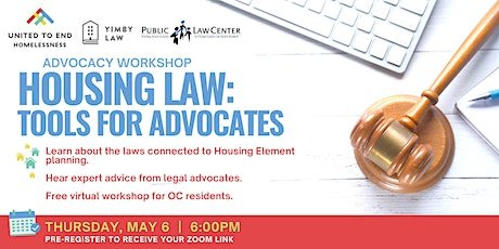 Housing Law: Tools For Advocates Online Workshop tickets