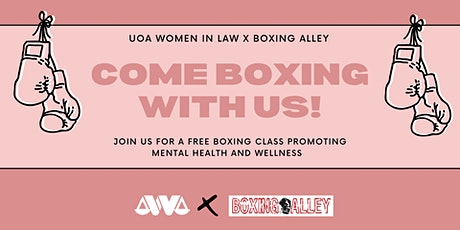 WIL X BOXING ALLEY: Boxing for mental health and wellness! tickets