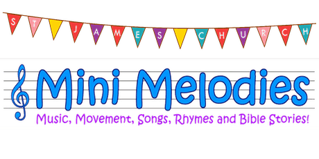 Mini Melodies Session 1 - Tuesday 20th April 2021 - 9.30-10.15am tickets