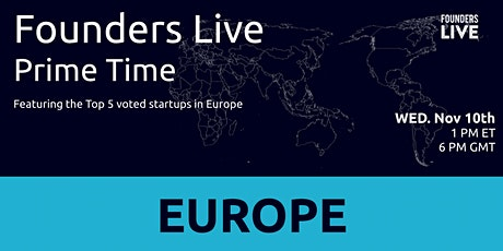 Founders Live Prime Time: Round 5 - Europe tickets