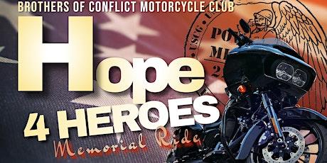 Hope 4 Heroes Motorcycle Ride tickets