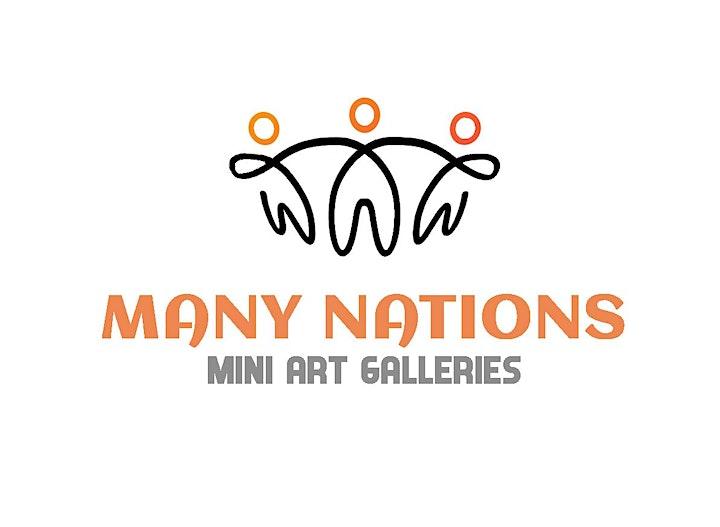 Many Nations Mini-Galleries Artist Talks image